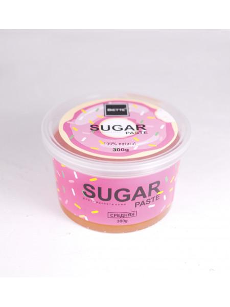 Сахарная паста Biette для депиляции 300 грамм Средняя