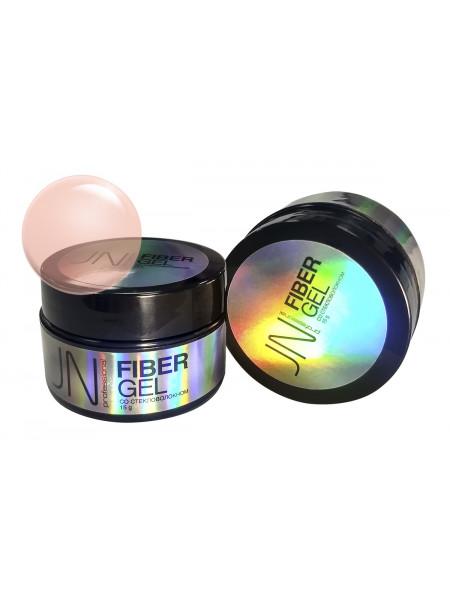 Гель со стекловолокном JN Fiber Gel 15г №17