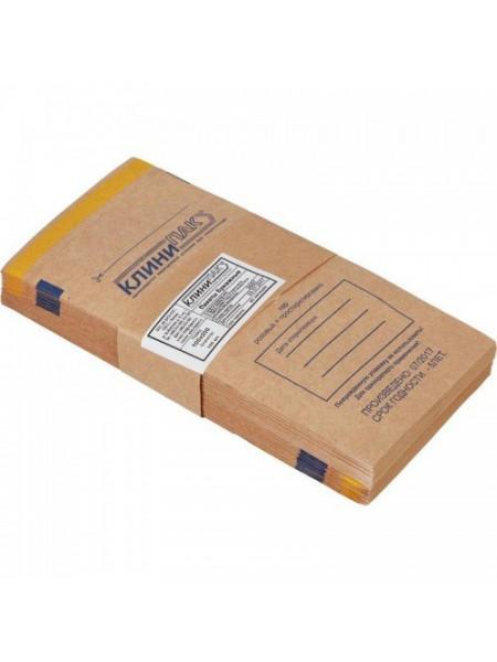 "Пакеты бумажные самоклеящиеся ""Клинипак"" 75х150 (крафт, 100шт.)"